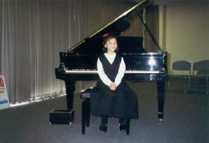 Kristen at Yamaha December 1995