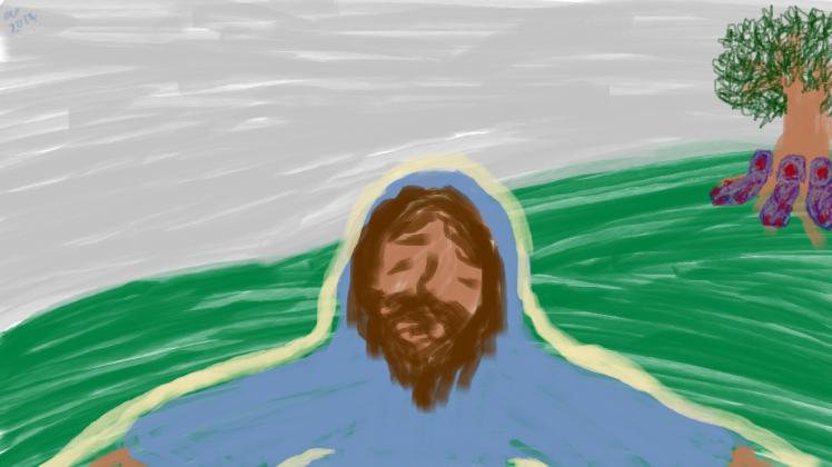Jesus Gethsemane 1
