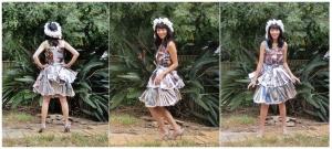 Magazine Dress