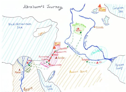 KD Abraham's Journey
