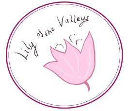 Lily of the Valleys Logo Pink